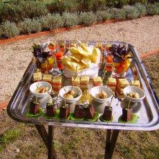 Apéritif gourmand à l'Hostellerie de l'abbaye de la Celle